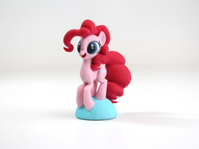 Pinkie Pie in Full Color Sandstone