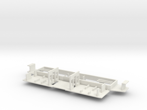 RET471-570 chassis (Fahrgestell) in White Natural Versatile Plastic