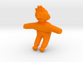 Ernie From Sesame Street in Orange Strong & Flexible Polished