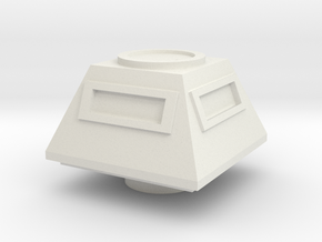 Turret Command Europe #1 (n-scale) in White Strong & Flexible