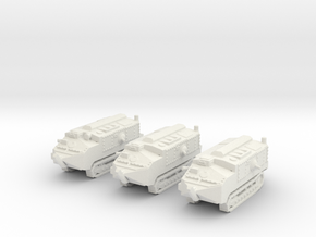 1/160 scale Schneider tank in White Strong & Flexible