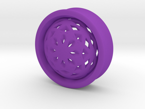 VORTEX2-33mm in Purple Strong & Flexible Polished
