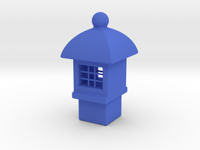 Spirit House - Tardis in Blue Strong & Flexible Polished