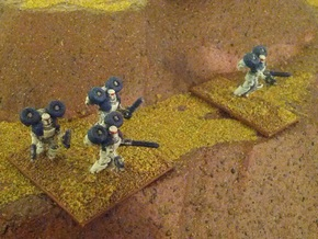 15mm Legionary Storm Squad in White Strong & Flexible