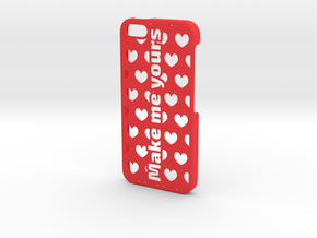 iPhone 5 Case - Customizable in Red Strong & Flexible Polished
