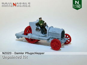 Daimler Pflugschlepper (N 1:160) in Frosted Ultra Detail
