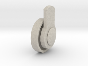 Wheel for furniture pieces in Sandstone