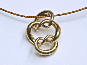 Knot A in Polished Brass