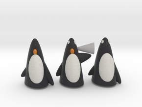 The 3 Wise Penguins in Full Color Sandstone