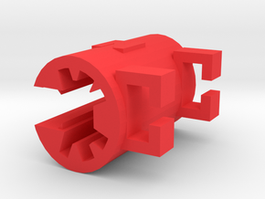 The Pencil Clip in Red Strong & Flexible Polished