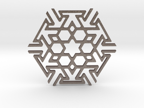 Tileable Coaster - No2 in Stainless Steel