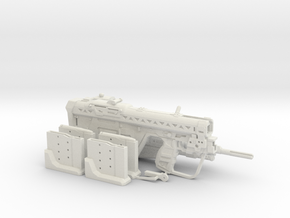 1:6 Designated Marksman Rifle Human Sized w/ extra in White Strong & Flexible