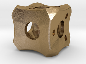Dice52 in Polished Gold Steel