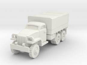 1/100 Studebaker 6x6 truck in White Strong & Flexible
