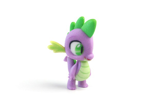 My Little Pony - Spike the Dragon (�50mm tall) in Full Color Sandstone