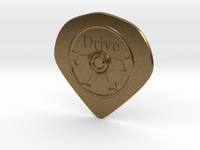 Hard pick(drive) in Raw Bronze