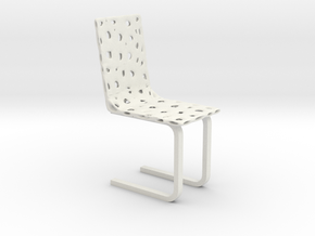 Modern Voronoi Organic Chair in White Strong & Flexible