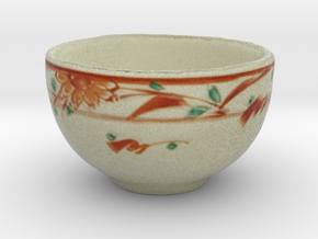 The Asian Teacup in Full Color Sandstone