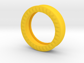 VORTEX9-41mm in Yellow Strong & Flexible Polished