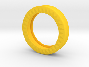 VORTEX9-46mm in Yellow Strong & Flexible Polished