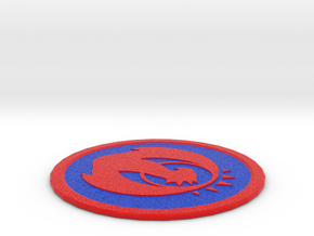 Izzet Coaster in Full Color Sandstone