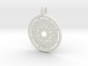 Hermippe pendant in White Strong & Flexible