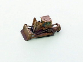 Armored Dozer 1/160 N Scale in Frosted Ultra Detail