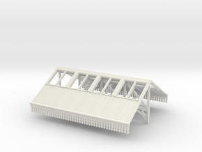 Canopy Section 2 - V2 4mm in White Strong & Flexible