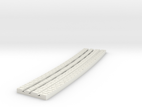 P-9-165st-long-y-curved-outside-1a in White Strong & Flexible