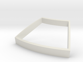 Periscope pie panel bezzle in White Strong & Flexible