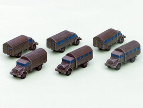 German Ford G 398 3to Truck (Box) 1/285 6mm in Frosted Ultra Detail