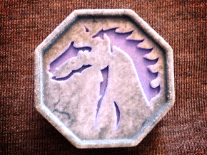 Horse Talisman in Full Color Sandstone