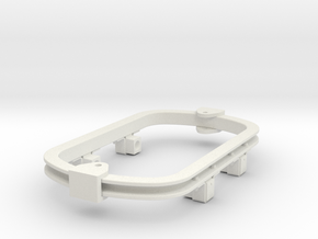 1:35 or Gn15 small skip underframe hudson axlebox in White Strong & Flexible