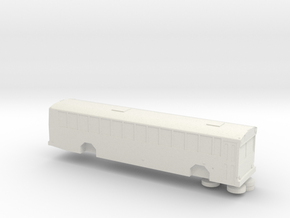 HO scale gillig phantom school bus (solid) in White Strong & Flexible