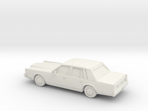 1/87 1983 Lincoln Town Car in White Strong & Flexible