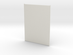 1:6 corrugated panels x2 in White Strong & Flexible