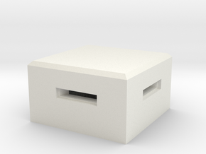 MG Pillbox 4 in White Strong & Flexible