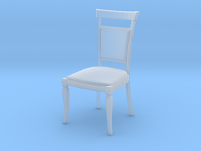 Miniature 1:48 Dining Chair in Frosted Ultra Detail