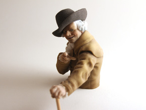 Joseph Ducreux (Archaic Rap) in Full Color Sandstone