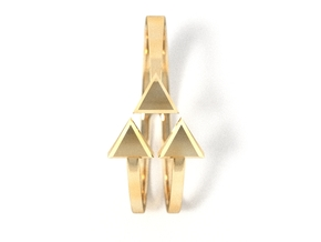 Ring of Triforce  Size 6 in 14K Gold