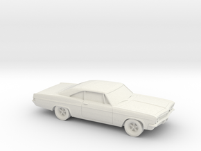 1/87 1966 Chevrolet Impala SS in White Strong & Flexible