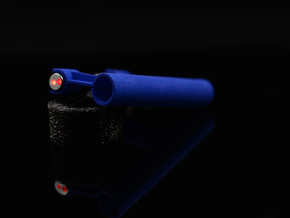 LASER SHOT PRO - LASER GUIDED POOL CUE in Blue Strong & Flexible Polished