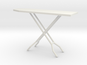 1:24 Ironing Board in White Strong & Flexible