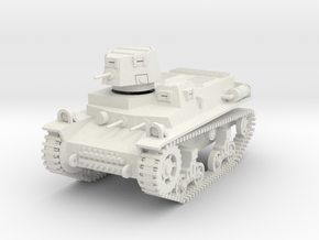 PV57A T16 Light Tank (28mm) in White Strong & Flexible