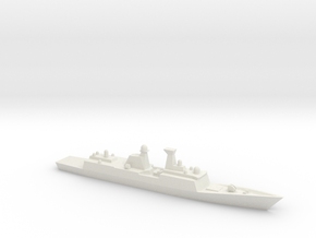 Type 054A 1/3000 in White Strong & Flexible