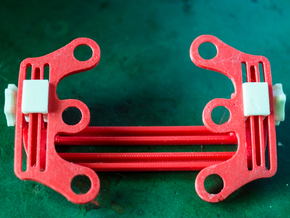 Feiyu Tech hot swap Universal Camera Mount V2 in Red Strong & Flexible Polished
