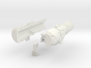 Brawn Cannon in White Strong & Flexible