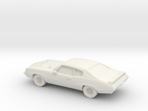 1/87 1971 Buick GSX  in White Strong & Flexible