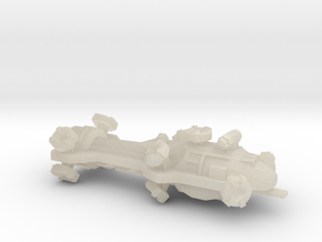 Digitorium Warp Bubble Beam Frigate in White Acrylic
