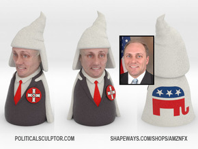 Steve Scalise Bust in Full Color Sandstone